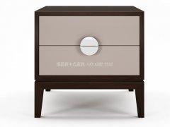 新中式床头柜R-2093