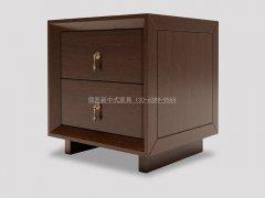 新中式床头柜R-2098