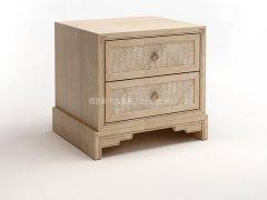 新中式床头柜R-2105