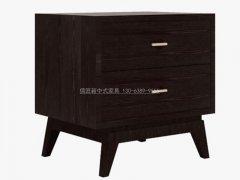 新中式床头柜R-2107