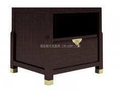 新中式床头柜R-2122