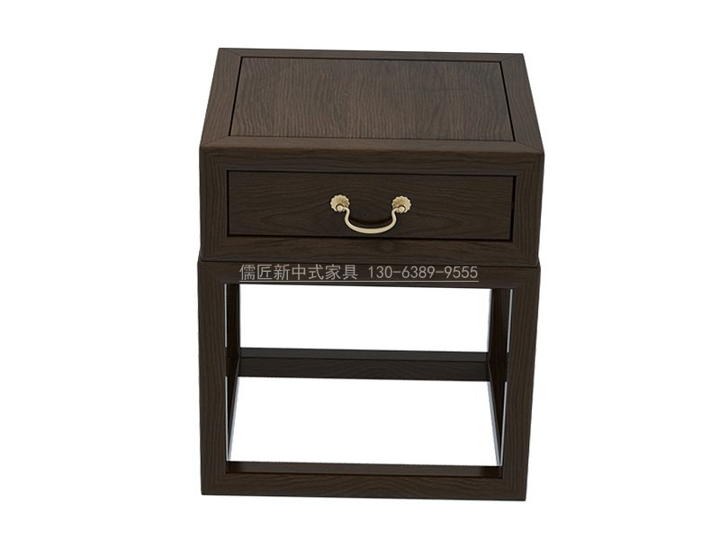 新中式床头柜