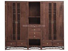 新中式衣柜R-2156