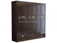 新中式衣柜R-2168