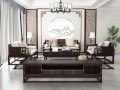新中式沙发组合R-2249