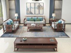 新中式沙发组合R-2250