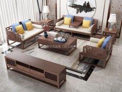 新中式沙发组合R-2251