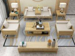 新中式沙发组合R-2253