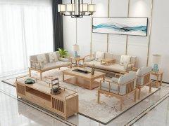 新中式沙发组合R-2254