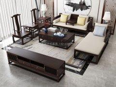 新中式沙发组合R-2255