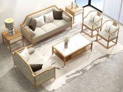 新中式沙发组合R-2269