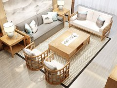 新中式沙发组合R-2272