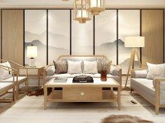 新中式沙发组合R-2274