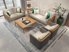 新中式沙发组合R-2275