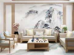 新中式沙发组合R-2276