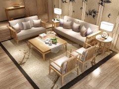 新中式沙发组合R-2277