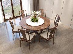 新中式餐桌椅R-2279