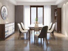新中式餐桌椅JYG-CQS-2281