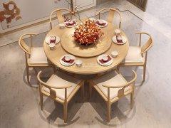 新中式餐桌椅JYG-CQS-2283