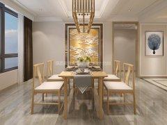 新中式餐桌椅JYG-CQS-2284