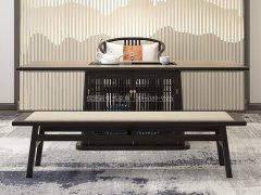 新中式茶桌椅组合R-2305