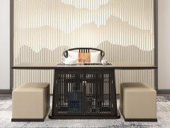 新中式茶桌椅组合R-2306