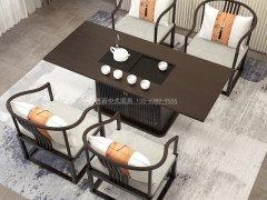 新中式茶桌椅组合R-2307