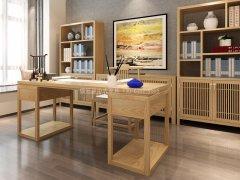 新中式书房家具RJ-BL-2310
