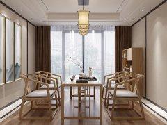 新中式茶桌椅组合R-2313