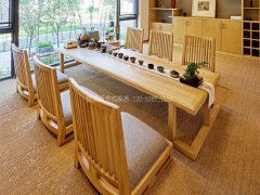新中式茶桌椅组合R-2312
