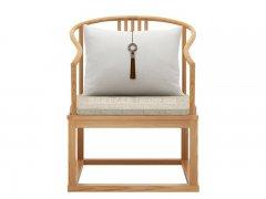 新中式书椅R-2316
