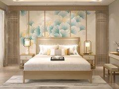 新中式卧室家具组合R-2320