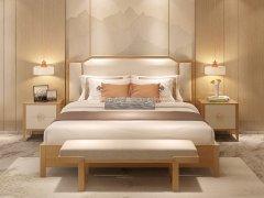 新中式卧室家具组合R-2321