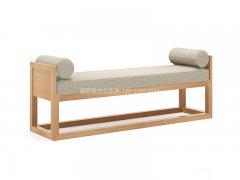 新中式床尾凳R-2328