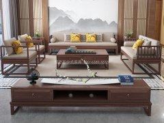 新中式沙发组合JYG-CQS-2331
