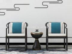 新中式太师椅R-2333