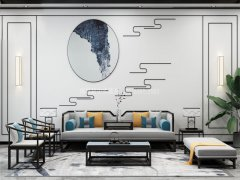 新中式沙发组合R-2334