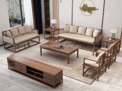 新中式沙发组合R-2335
