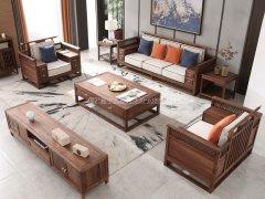 新中式沙发组合R-2337