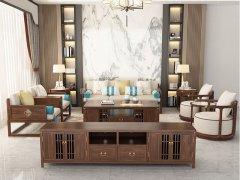 新中式沙发组合R-2338