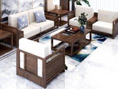新中式沙发组合R-2339