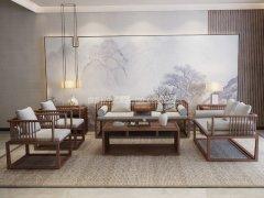 新中式沙发组合R-2340