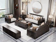 新中式沙发组合R-2342