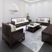 新中式沙发组合R-2343