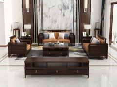 新中式沙发组合R-2345