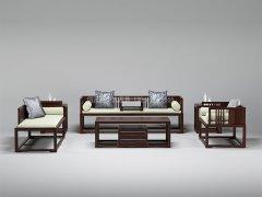 新中式沙发组合R-2346