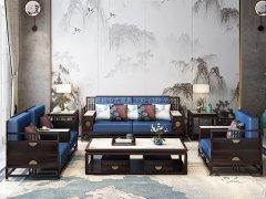 新中式沙发组合R-2347
