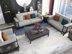 新中式沙发组合R-2348