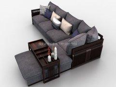 新中式沙发组合R-2349