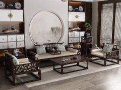 新中式沙发组合R-2355